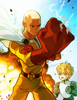 one punch man by genicecream