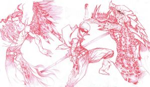 Busride Sketches 159 by Cycrone