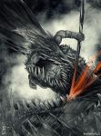 Clash of the Titans by MrKostek