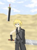FF7:AC Cloud Strife by crazy4anime09