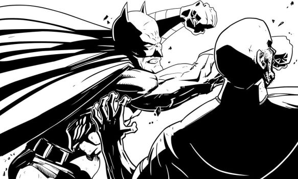 Batman Inked by StarGamerWorld