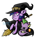 Halloween Twilight Witch by SouthParkTaoist