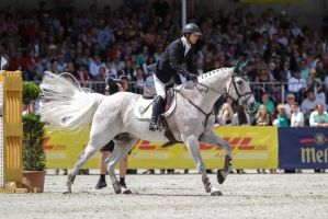 3DE Show Jumping Phase Stock 104 - After Landing by LuDa-Stock