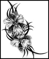 Tattoo Orchids by darkangels280
