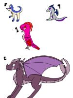 surprise egg adopts part 1 by Nightshade-warroir