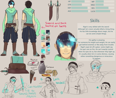 Walking City OCT - Rigel Reference Sheet by CO0T