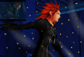 {MMD} Axel screenshot by sophloulou