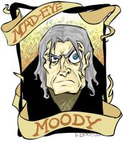 Mad Eye Moody - DH by lberghol