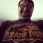 Jurassic Park fan by RedJoey1992