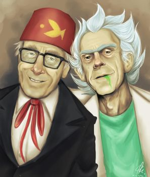 Stan and Rick by RatTheRipper