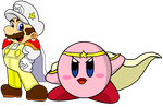 Request - Mario's and Kirby's Ancestors by KingAsylus91
