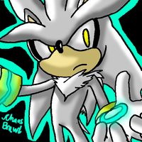 Silver the hedgehog by inuyashacrazy1