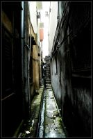dark alley by technoghost
