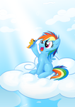 Filly Dash with Spitfire Toy by theinkBot