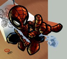 Go Spidey by psychoheat