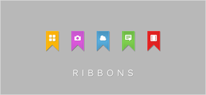 Ribbons Icon Pack by JM--Designs