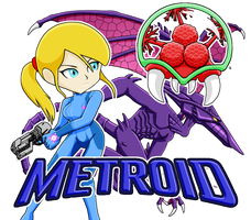 Metroid by DabyHedgehog