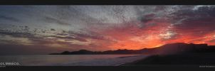 Panoramic sunset by Elemento11