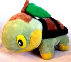 Tomy Turtwig Plush by PokePlushProject