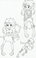 Day(tona) Doodle Page by whisperimaginary