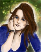 Speed art- Kristen Stewart by para-vine