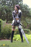 Female Squall Cosplay Final Fantasy 8 Dissidia by AurumCosplay