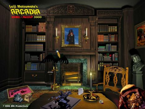 Captain Harlock's study ? by Bispro