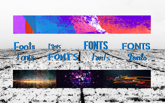 A-X Designer Pack (Brushes-Fonts-Textures) by A-XDesigner