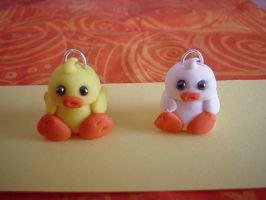 charms ducks by Libellulina