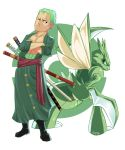 Project PokeCross-Over: ++Zoro/Scyther++ by Ponkuno