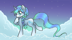 Northern Lights - Pony by issabissabel