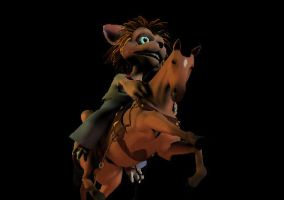 Norn Rides Horse: The Sequal by EmziePoodlez