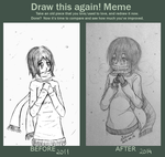Draw This Again! - Snow Memories by Zukimime