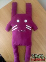 Bunny's plush by Clare-Sparda