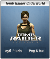Tomb Raider Underworld Icon by Th3-ProphetMan