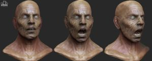 evil old man sculpt by ChrRambow