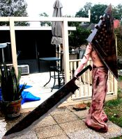 Silent Hill film/Homecoming Red Pyramid costume by Rising-Darkness-Cos