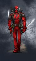 Dead Pool Manarama by SpicerColor