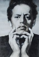 Philip Glass by Ziggster