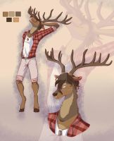 [CLOSE] AUCTION ADOPT ANTHRO DEER #1 Price lowered by AryaBehsk