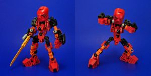 Bionicle - Tahu Revised Weapon Set by Lalam24