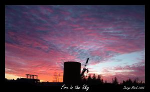 Fire in the Sky by mackdj