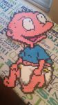Perler Bead Tommy Pickles by F0ggi