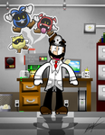 A Ghostly Medical Mishap. by GSVProductions
