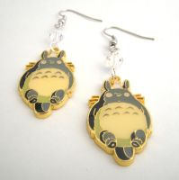 My Neighbor Totoro Kawaii Geek Earrings by GeekStarCostuming