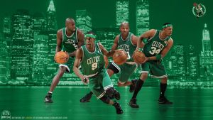 Boston Celtics Wallpaper by lisong24kobe