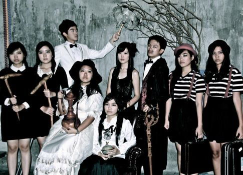 The Addams Family by targabtaryls