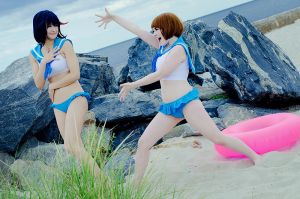 lets go to the bEACH EACH - Kill la Kill by Mostflogged