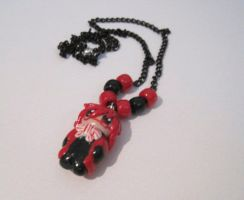 Grell Necklace by CL-Pinkskull
