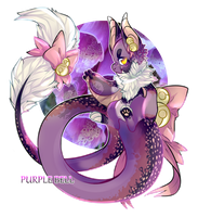[AUCTION] Purple Bell [CLOSED] by qekkon